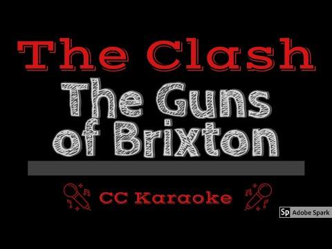 The Clash   The Guns of Brixton CC Karaoke Instrumental