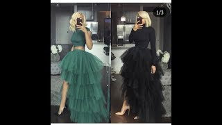 Gambar cover Diy how to make a two in one trendy tulle skirt | Jessica nneka
