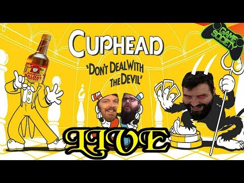 Cuphead + Malort = Pain LIVE! - (South Park PS4 Key Giveaway)