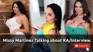 Missy Martinez Talking about RA/Interview