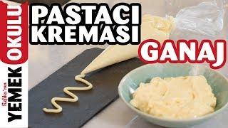 Pastacılık 2: Ganaj ve Pastacı Kreması Tarifi | İlkay'ın Pasta-Hanesi