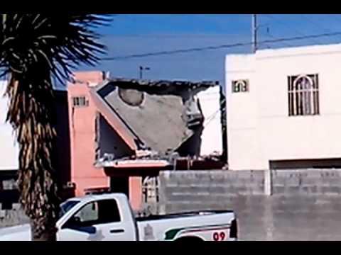 casa explosión