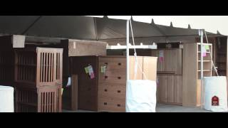 Barn Furniture - Bookcase Tent Sale