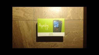 "Mobiwire Ayasha 1.8"" Mobile Phone Unboxing!"