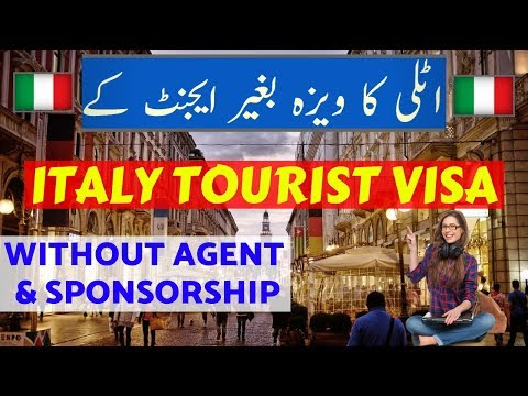 Italy Tourist Visa Without Any Consultant.