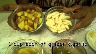 Ginger Garlic Paste And Benefits