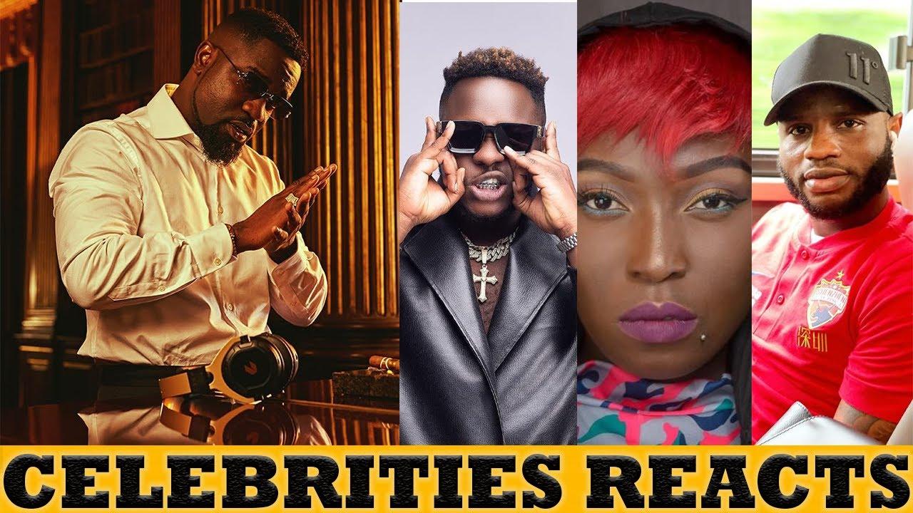 Sarkodie No Pressure Album: Celebrities Reacts & Show Their Support To Sarkodie 7th Studio Album