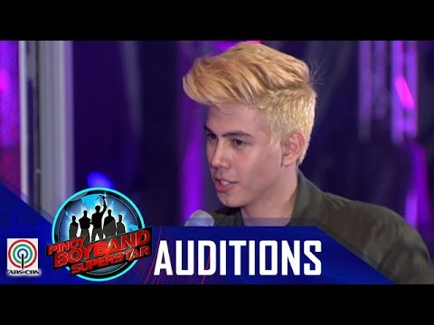 "Pinoy Boyband Superstar Judges' Auditions: Michael Hogan  ""Sorry"""