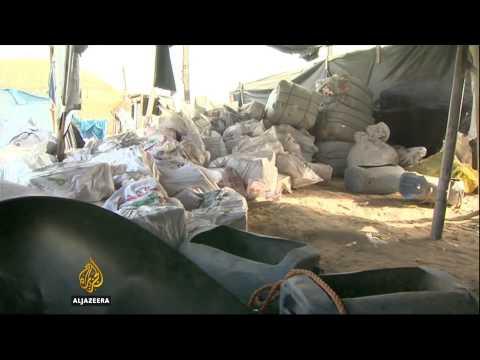 Flooding of Gaza tunnels cuts off Palestinian lifeline