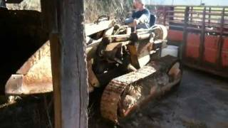 1959 or so Allis-Chalmers HD5 AC Loader Dozer Part 2