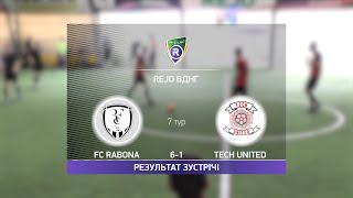 Обзор матча FC Rabona Tech United Турнир по мини футболу в Киеве