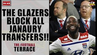 NO NEW PLAYERS! The Glazers block all January transfers & stop Solskjaer's Dembélé move!