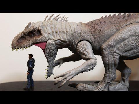 Mainan Dinosaurus Keren: Jurassic World Indominus Rex Destroy 'N Devour