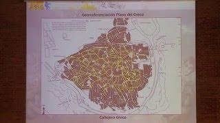 11as Jornadas Int. gvSIG: Plano de Toledo del Greco (1608‐1614). Nueva edición con gvSIG