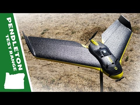 SenseFly eBee: Survey and Mapping Drone Flies Autonomously