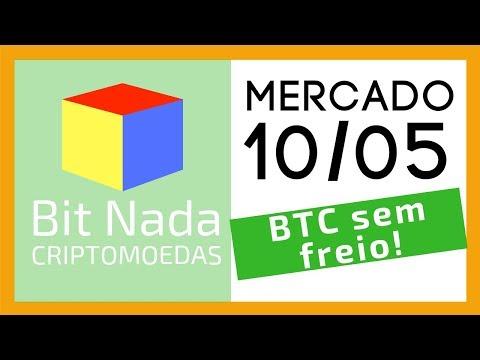Mercado de Cripto! 10/05 Bitcoin sem freio! 6.300 / Altcoins derretendo / Dash / Binance / Groselha