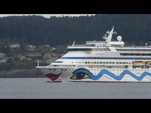 AIDAAURA Passenger Ship