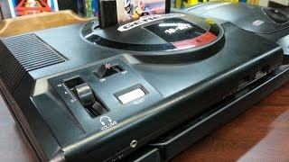Classic Game Room - SEGA CD MODEL 2 to GENESIS 1 EXTENDER review