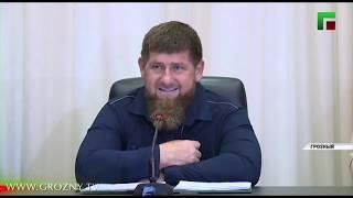 Рамзан Кадыров провёл расширенное совещание посвящённое вопросам развития Грозного