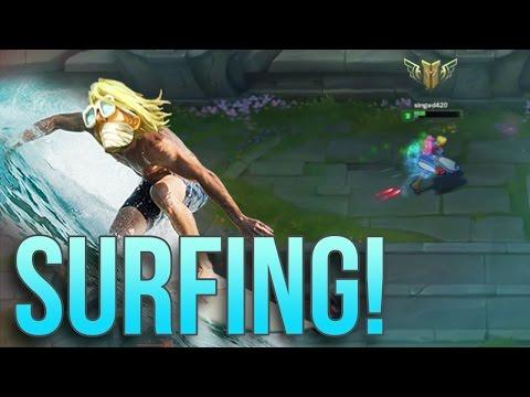 Singed420 - Surfing!