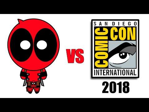Deadpool vs Comic-Con 2018