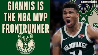 Giannis is the NBA MVP Frontrunner, Zion itching to return | CBS Sports HQ
