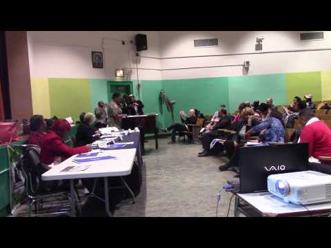 Community Board 9 Brooklyn  meeting on April 25, 2017