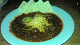 Texas Style, Real Chili