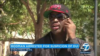 Dennis Rodman arrested for DUI | ABC7