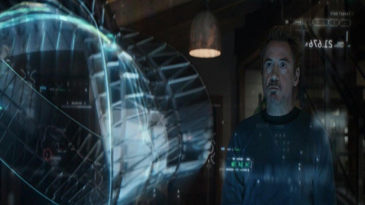 Tony Figures Out Time Travel Scene - Avengers Endgame - YouTube