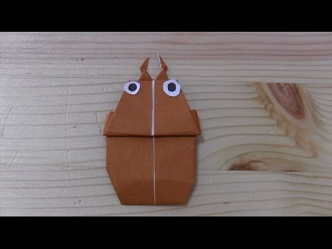 ハート 折り紙:折り紙クワガタの折り方-youtube.com