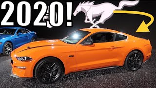 2020 MUSTANG GETS MORE HP & TAKES AIM AT SUPRA MARKET!