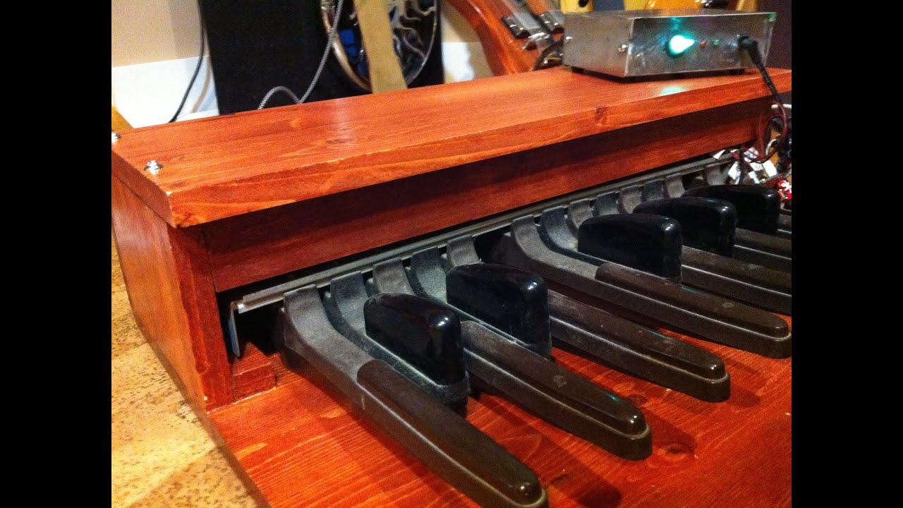 midi bass pedal project
