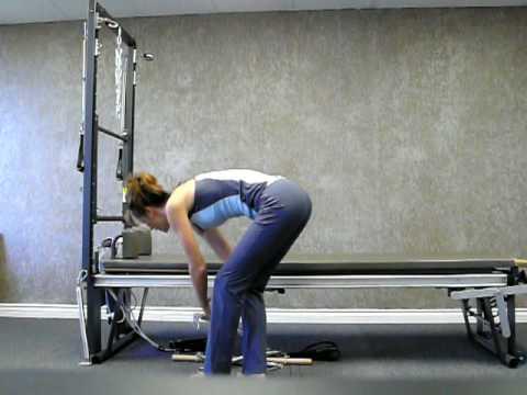 Pilates Cadillac Exercise Workout