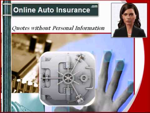Auto Insurance  Quotes - Without Personal Info