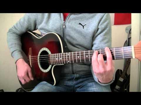 Gustavo Cerati   Te Llevo Para Que Me Lleves   Guitar Cover