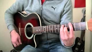Gustavo Cerati | Te Llevo Para Que Me Lleves | Guitar Cover