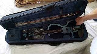 Cecillio Electric Violin Unboxing And Testing!