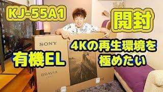 SONY BRAVIA A1 OLED【4K 有機 EL TV】KJ-55A1【開封〜設置】 thumbnail