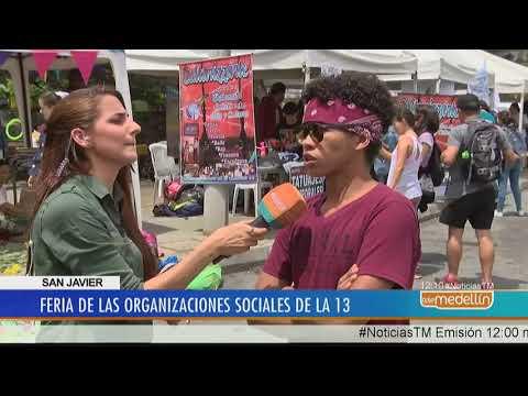 Se realizó Feria Social y Cultural en la Comuna 13 [Noticias] - Telemedellín