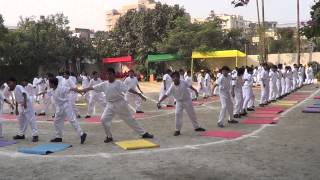 Yoga Display Sri Sri Academy Class6