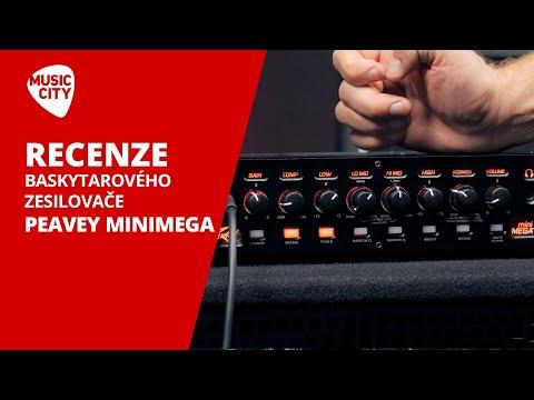 Recenze baskytarového zesilovače PEAVEY MINIMEGA