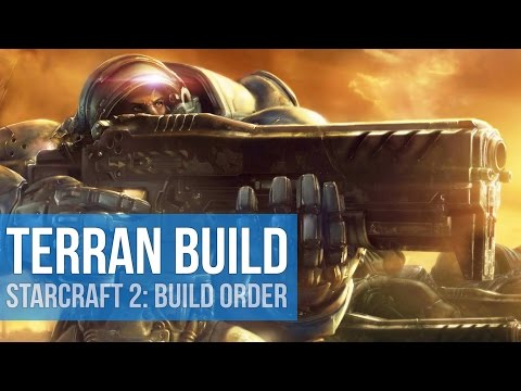 StarCraft 2: EASY Terran Build Order! (Guide)