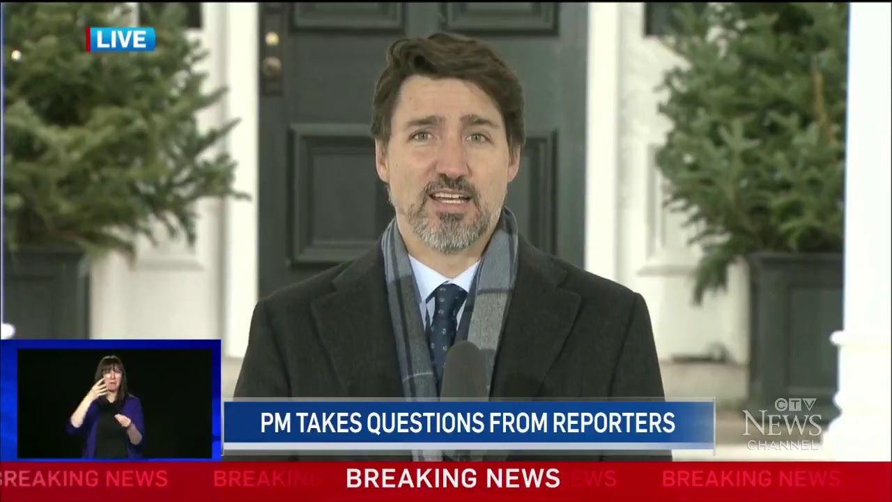 """Trudeau to Canadians: """"Enough is enough, go home and stay home."""""""