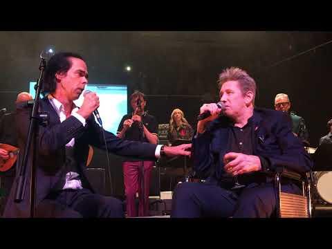 Nick Cave & Shane MacGowan National concert hall