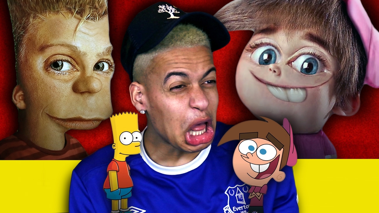 Cartoon Characters In Real Life Youtube