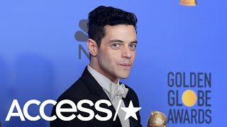 Rami Malek Reacts To His 'Very Awkward' Golden Globes Moment With Nicole Kidman | Access