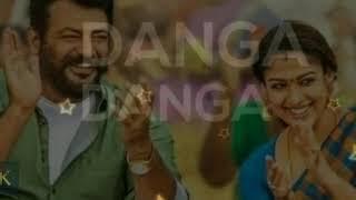 Danga danga/viswasam/ajith kumar/nayanthara/siva/D imman musical..