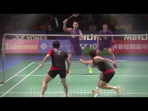 Nice Highlights Badminton Lee Yong Dae 이용대 Yoo Yeon Seong, 유연성 Vs Fu Hai Feng 傅海峰 Zhang Na