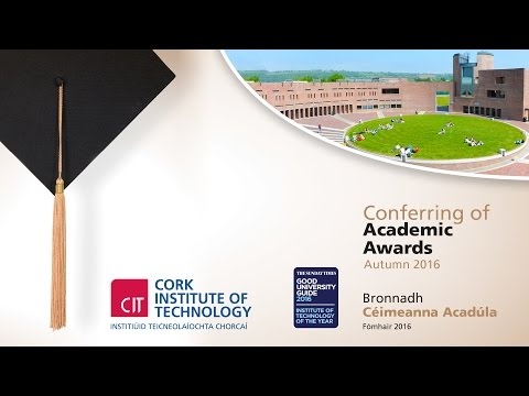 CIT Conferring Ceremony - Monday 12:00pm
